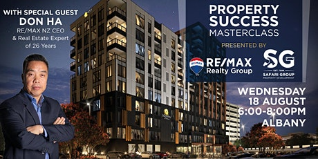 Property Success Masterclass with RE/MAX Realty Group & Don Ha tickets