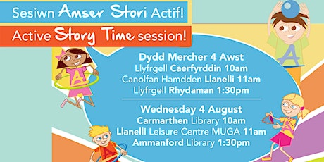 Amser Stori Actif / Active Story Time (Llanelli) tickets