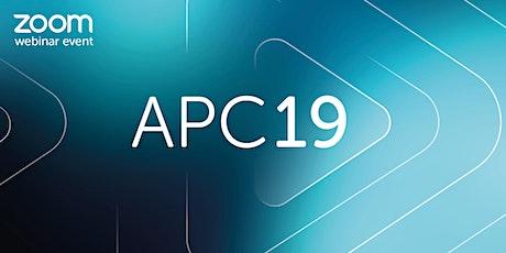 APC19: Applicant Briefing Webinar tickets