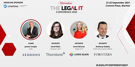 The Alternative Legal IT Conference tickets