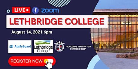 FREE WEBINAR: LETHBRIDGE COLLEGE tickets