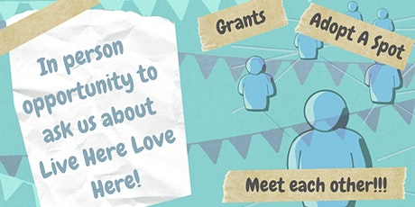 Live Here Love Here In Person Meet Up's - Antrim Castle Gardens, Antrim tickets
