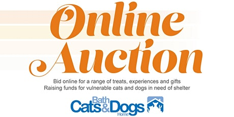 Bath Cats and Dogs Home Online Auction tickets