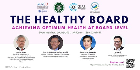 The Healthy Board tickets