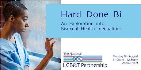Report Launch | Hard Done Bi: An Exploration into Bi Health Inequalities tickets