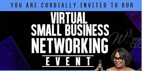 Actress Cocoa Brown Virtual Small Business Networking Event tickets