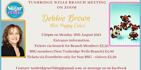 Debbie Brown - Demonstrates Mini Puppy Cakes tickets