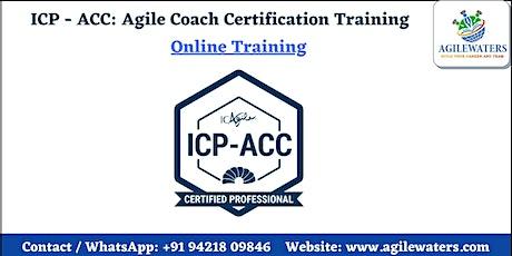 Certified Agile Coaching (ICP-ACC) Certification Online Training biljetter