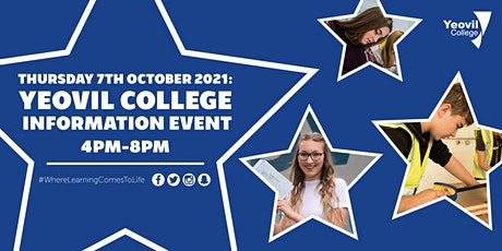 Yeovil College Information Event - October 2021 tickets