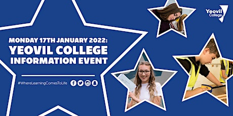 Yeovil College Information Evening - January 2022 tickets
