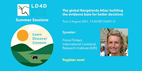 The Rangelands Atlas: building the evidence base for better decisions tickets