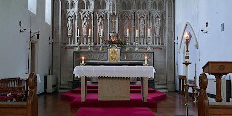 6pm Vigil Mass at St Edmund's 21st  August tickets