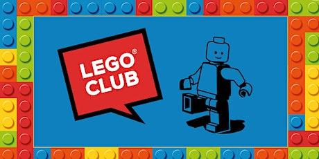 Lego Club - Gipsyville Library tickets