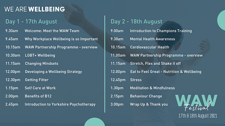 Wellbeing At Work Festival image