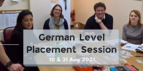 German Level Placement Session tickets