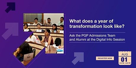 ISB PGP Digital Info-session |Lucknow| 4 PM - 6 PM tickets
