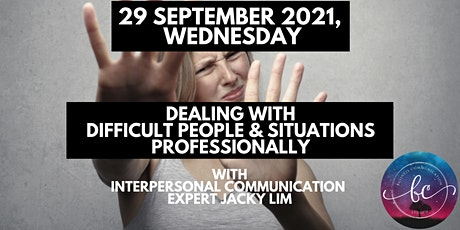 1-Day Dealing with Difficult People & Situations Professionally tickets