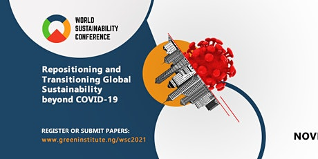 WORLD SUSTAINABILITY CONFERENCE 2021 tickets