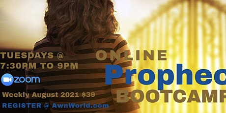 5- Week Prophecy Bootcamp - Grow in Prophecy Online tickets