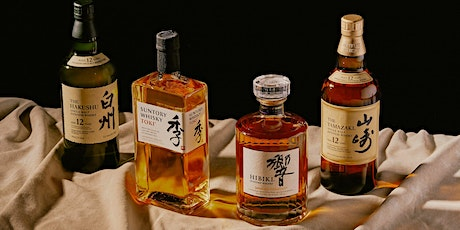 Suntory Japanese Whisky Master Class & Mixing Session $39pp tickets