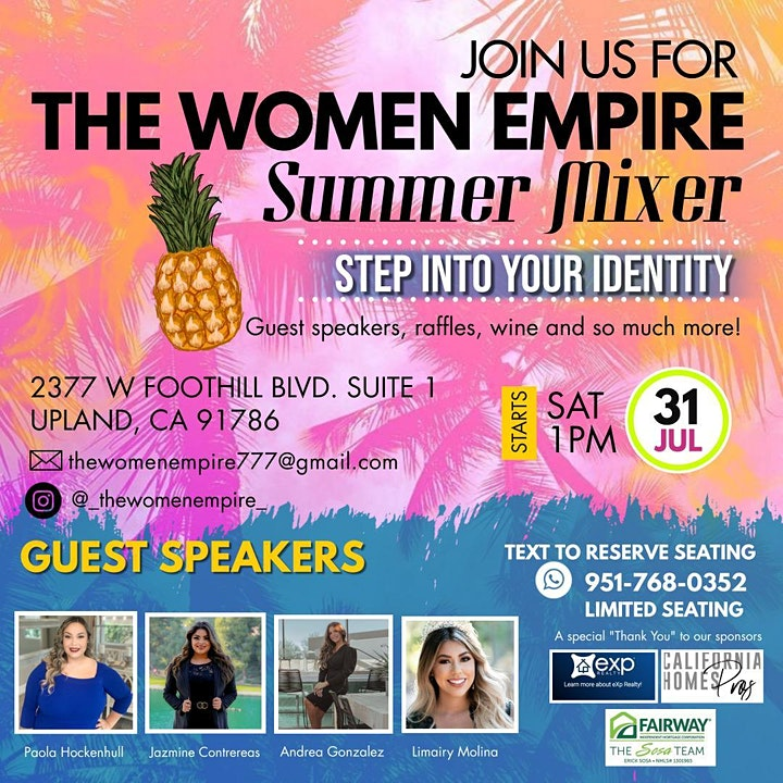Summer Mixer:  Step Into Your Identity image