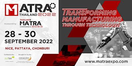 MANUFACTURING TRANSFORMATION THAILAND 2021 (MATRA) tickets