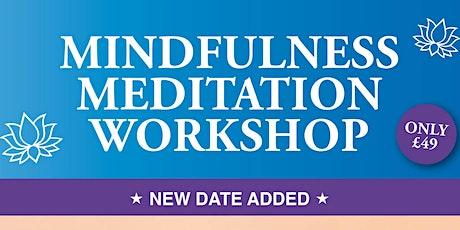 Mindfulness Meditation Workshop tickets