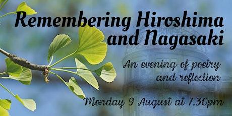 Remembering Hiroshima and Nagasaki tickets