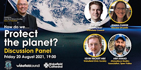 """Gaia Discussion Panel - """"How do we Protect the Planet?"""" tickets"""