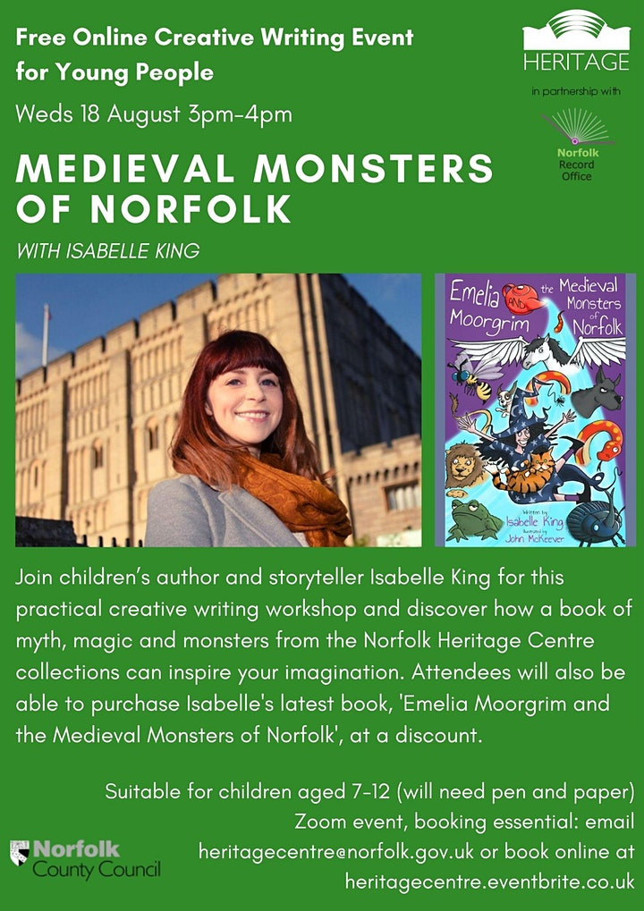 Medieval Monsters of Norfolk with Isabelle King image