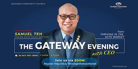 The Gateway Evening with CEO: Thriving In The Auto Market tickets