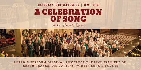 A Celebration of Song - All day Rehearsal and Performance tickets