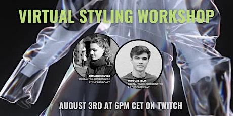 Virtual styling workshop tickets