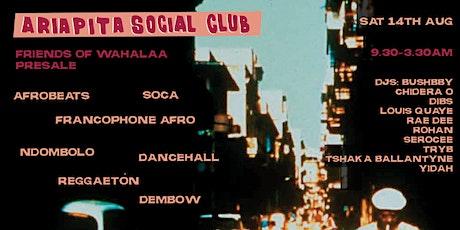 Ariapita Social Club: Afrobeats Soca Dancehall Reggaeton Francophone etc. tickets
