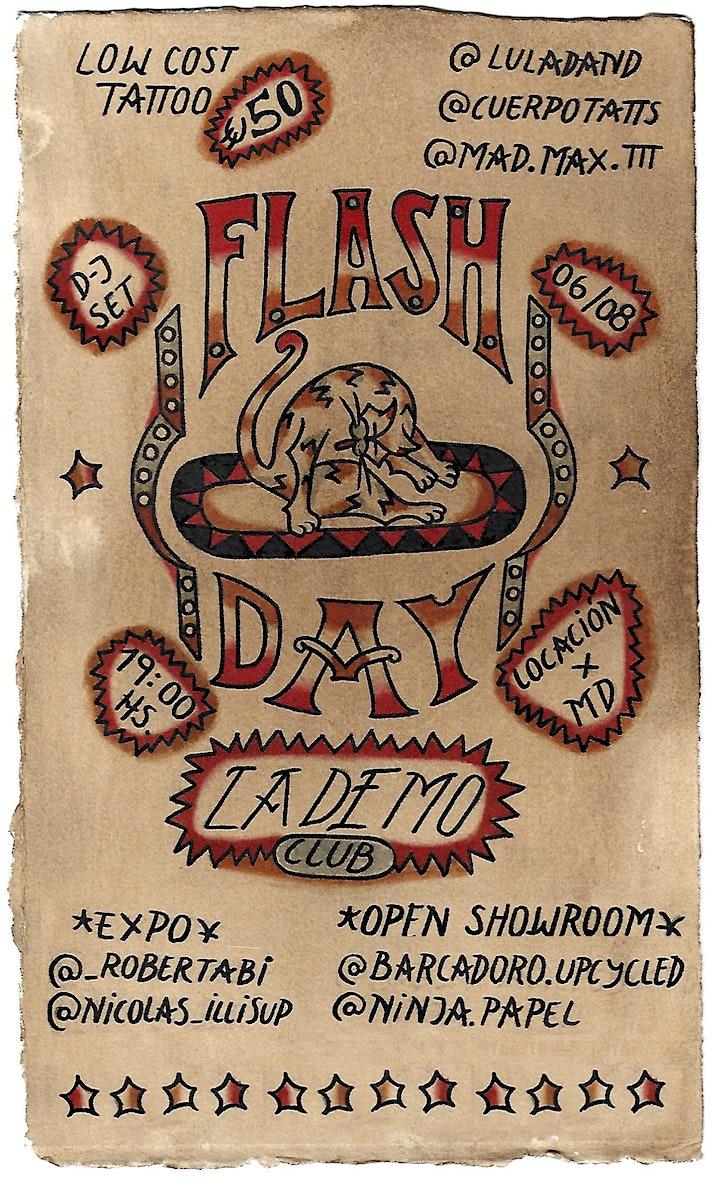 Imagen de TATTOO FLASH DAY