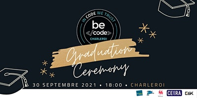 Invitation Graduation BeCode Charleroi