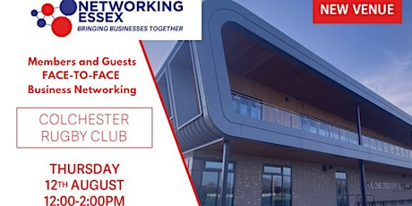 (FREE) Networking Essex Colchester Thursday 12th August 12pm-2pm tickets