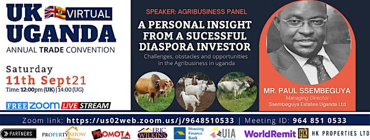11TH UGANDA- UK TRADE & INVESTMENT VIRTUAL CONVENTION2021 image