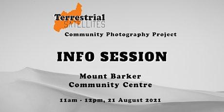 Terrestrial Satellites Info Session, Mount Barker SA tickets