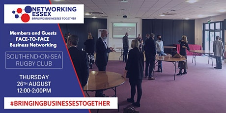 (FREE) Networking Essex Southend Thursday 26th  August 12pm-2pm tickets