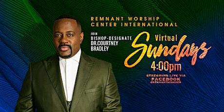 RWCI Virtual Sunday Service tickets