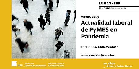 Actualidad laboral de PyMES en Pandemia entradas