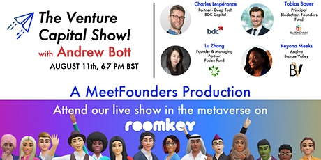 The Venture Capital Show! [August 11] LIVE RECORDING tickets