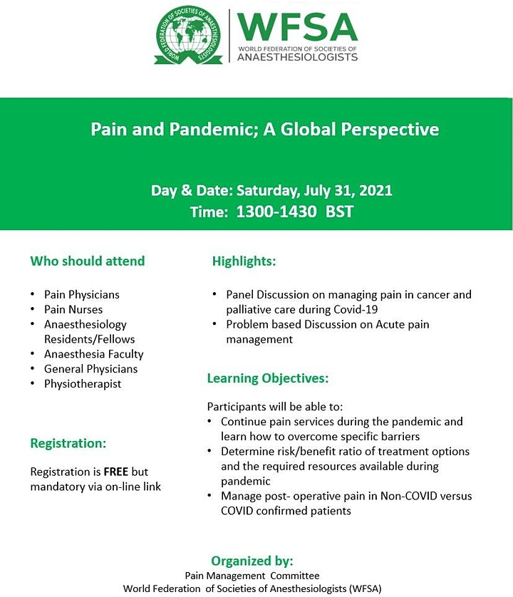 Pain and Pandemic: A Global Perspective image