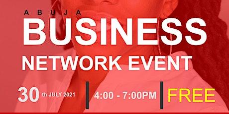 ABUJA BUSINESS NETWORK tickets