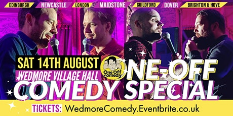 One Off Comedy Special at Wedmore Village Hall! tickets