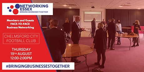 (FREE) Networking Essex Chelmsford Thursday 19th August 12pm-2pm tickets