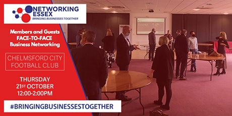 (FREE) Networking Essex Chelmsford Thursday 21st October 12pm-2pm tickets