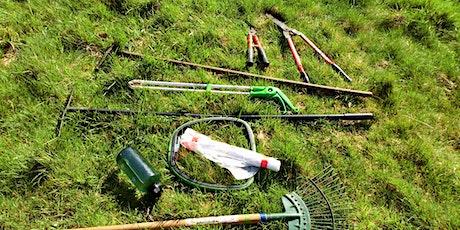 Hampton Wick Nursery Wilderness Garden - practical conservation activities tickets