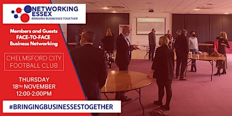 (FREE) Networking Essex Chelmsford Thursday 18th November 12pm-2pm tickets